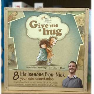 Give me a hug - Nick Vujicic