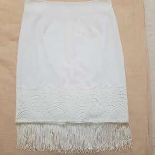 Fringe skirt from miss selfridge