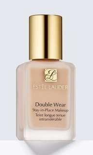 Estee Lauder double wear foundation (1N2 Ecru) with pump