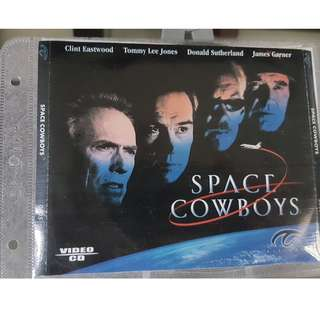 VCD - SPACE COWBOYS (2000) action adventure tommy lee jones clint eastwood donald sutherland