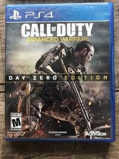 PS4 call of duty - advance warfare