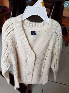 🚚 Baby Gap 冬季女童毛衣外套