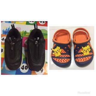 2 for P350 Auth Skechers shoes & crocs replica for baby boy