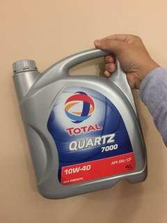 Total Quartz 7000 SN 10W40