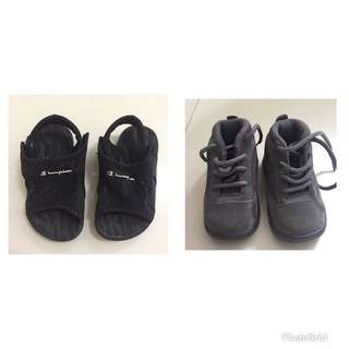 2 for P350 Auth nike jordan shoes & champion sandals
