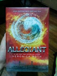 ALLEGIANT -divergent series hardbound