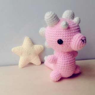 Baby Dinosaur Handmade