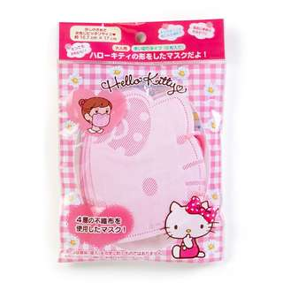 Sanrio Hello Kitty 3D立體口罩5個裝