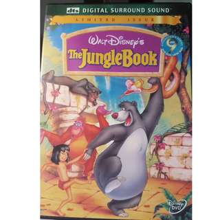DVD - THE JUNGLE BOOK (1967) animation adventure family