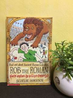 Rob the Roman Gets Eaten by the Lion (nearly)