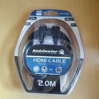Kelvinator (USA) HDMI CABLE (plug to plug)