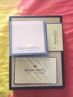 Braun Buffel passport holder/wallet