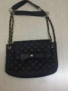INC postage brand new black inspired bag