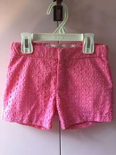 Cotton On Kids Pink Lace Shorts