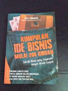 Dijual buku ide bisnis lengkap