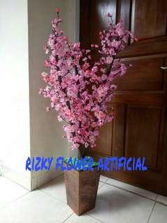 Bunga sakura plastik