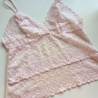 Baby pink cami/ lingerie