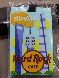 Hard Rock Cafe Luggage Tag
