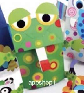 Hand puppet art and craft (Frog Prince) - children birthday party activity and goodies favors, goodie bag gift