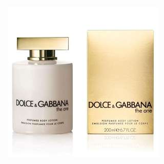 Dolce and Gabbana The One 200ml lotion