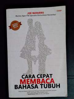 Dijual buku membaca bahasa tubuh