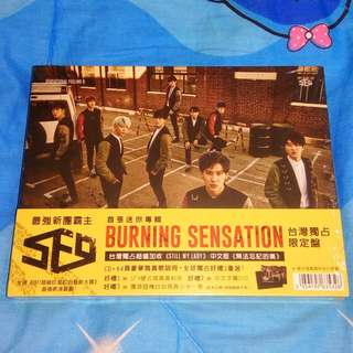SF9 Burning Sensation TW Press