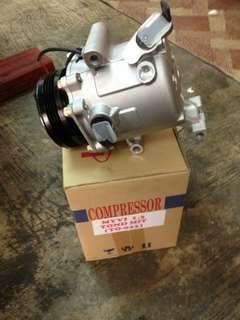 myvi 1.3 compressor dan codenser