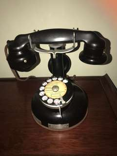 Antique French Pedestal phone
