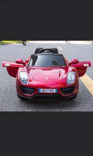 Porsche Motorised Sports Car for Kids