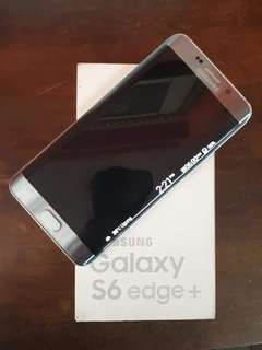 Samsung galaxy s6 edge plus rare silver