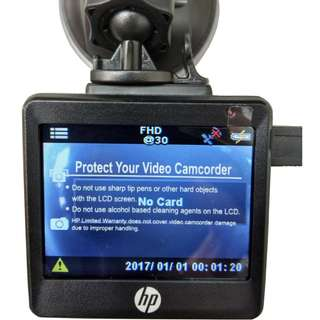 HP f550 Car Video Camcorder Recorder
