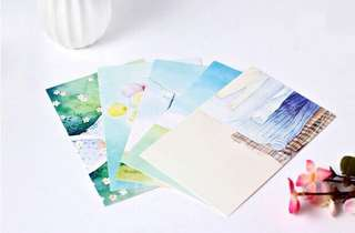 (PO) Peaceful Days Postcards/ Post Cards