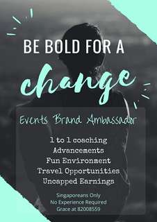 Brand Ambassador ! No Exp Required