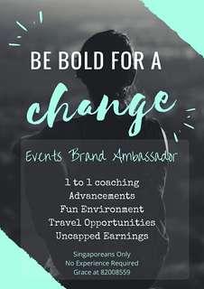 Brand Ambassador ! No Exp Required