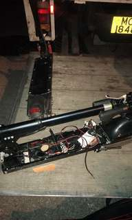 回收壞電動滑板車