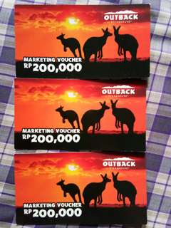 Voucher Outback Steakhouse