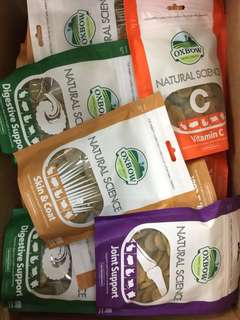 Pets' Gantry-New stocks of Oxbow Natural Science Supplements!