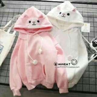AL: Cat Hoodie Jacket (Free Size)