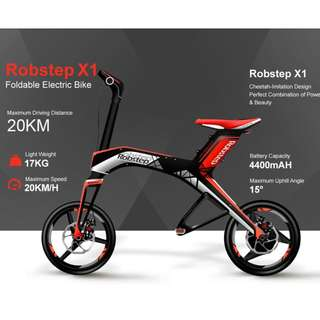 Robstep X1 Escooter (48V, 7ah, 300W) - LTA Compliant