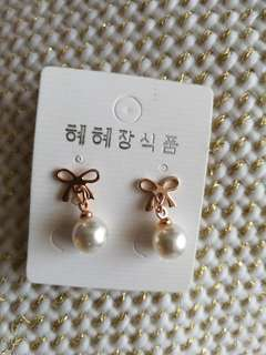 Korean design earrings