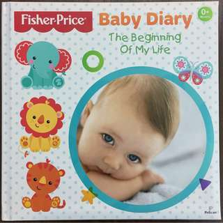 Fisher-Price Baby Diary / Book