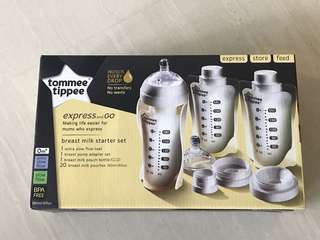 Tommee Tippee Express and Go small starter kit