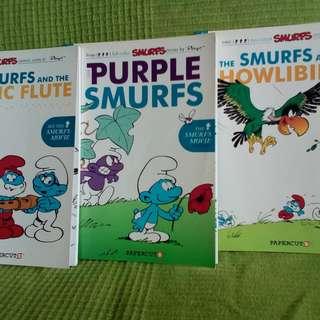 Smurfs Comic Books