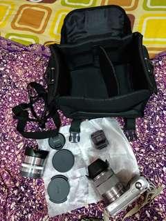 Dslr camera sony nex-3