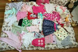 Preloved Clothes & Shoes of my daughter