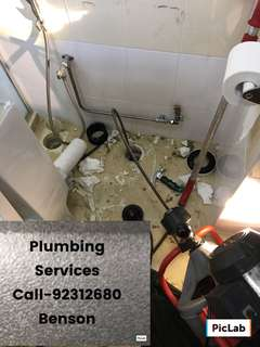 Plumbing services ! Home services !
