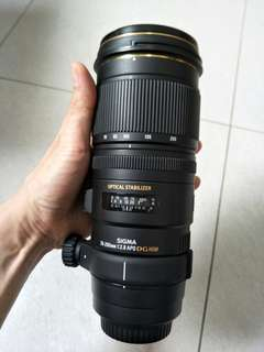 🚚 SIGMA 70-200mm F2.8 OS for canon