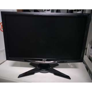 Acer G205HV Monitor with stand