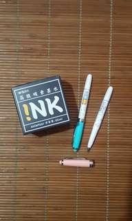 M&G fountain pen set