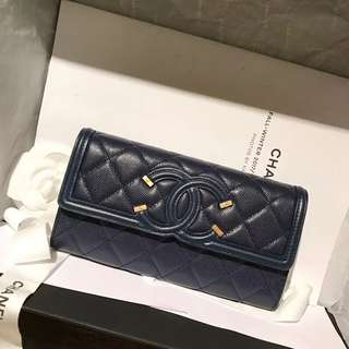 Chanel CC long Wallet